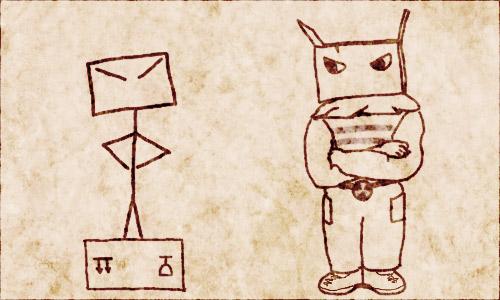 комикс человек-коробка